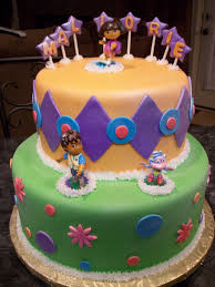 mymonicakes dora the explorer cake with diego and boots