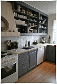 Open Shelves Kitchen Open Kitchen Shelves Farmhouse Style White Cupboards Open
