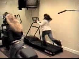 Treadmill Meme - girl falls off treadmill youtube