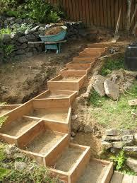 garten terrasse ideen die besten 25 terrassen treppe ideen auf patio steps