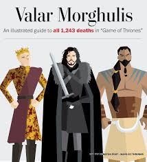 Game Of Thrones Valar Morghulis An Illustrated Guide To All 1 243 Deaths In U201cgame