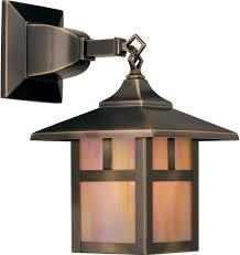 Mission Style Bathroom Lighting Outdoor Craftsman Post Light Arroyo Craftsman Catalog Mission
