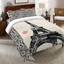 eiffel tower girls bedding eiffel tower bedding set bedding compare prices at nextag