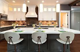 brick kitchen ideas brick backsplash for kitchen snaphaven