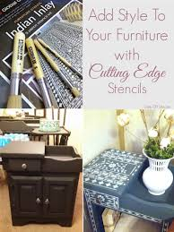Old Furniture How To Easily Update Old Furniture With Cutting Edge Stencils