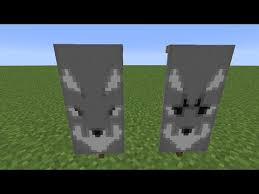 how to make a wolf banner in minecraft