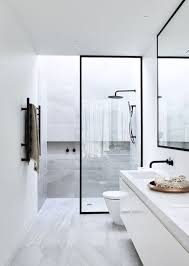 new ideas for bathrooms these showers are the new big thing in bathrooms steel frame