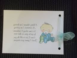 baby shower book instead of card poem fully personalised guest keepsake memory books for all occasions