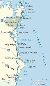 best 25 carolina beaches map ideas on map of nc
