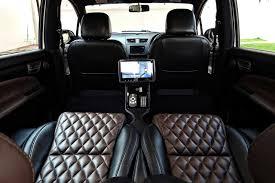 modified gypsy interior maruti suzuki ertiga modified kit up rear seats autobics