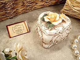 Jewelry Box Favors Buy Capodimonte Heart Shaped Jewelry Box Italian Wedding Favors In