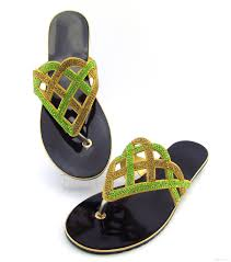 pc17052203 high quality african sandals for wedding fashion style