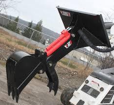 backhoe for bobcat mt 50 52 55 u0026 463 eterra e40 mini skid steer