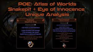 poe unique rings images Path of exile atlas of worlds snakepit ring eye of innocence jpg