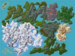 Terrain Map Growth Custom Terrain Minecraft Project