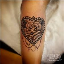 rose tattoos with rosary beads tattoo collection