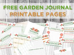 green in real life garden journaling and planning free journal