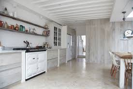 Whitewashed Kitchen Cabinets Scandinavian Renovation Scandinavian Kitchen By