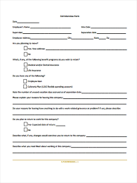 employee free employee interview form employee interview form