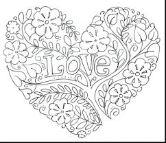 coloring pictures hearts wings pages heart mandala free