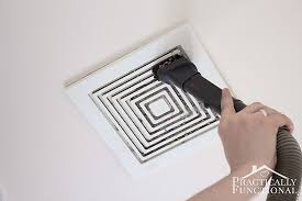 Exhaust Fans For Bathroom by How To Clean A Bathroom Exhaust Fan