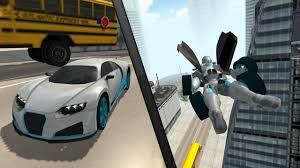 watercar gator flying car robot flight drive simulator game 2017 android apps