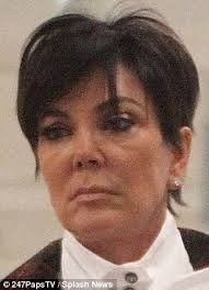 kris jenner hair colour kris jenner looks exhausted on outing with kim kardashian daily