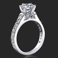 engagement ring settings only jewelers 6 prong tapered engagement rings handmade to suit
