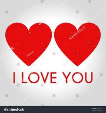 hearts icon symbol love on valentines stock vector 556375174
