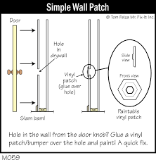 quick tip 29 u2013 patch the hole behind the door misterfix it com