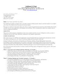 Resume Samples Non Profit by Resume Examples Templates Non Profit Cover Letter Sample Sample