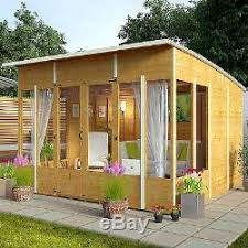 Garden Shed Summer House - garden wooden summer house sunroom outdoor log shed cabin patio