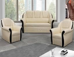 fauteuil et canapé ensemble canapé convertible avec coffre et 2 fauteuils