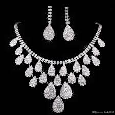 crystal bridal necklace sets images Bridal jewelry necklace sets jpg