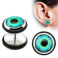 men stud earrings 1 pair evil eye stud earrings ear stud piercing earrings