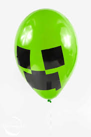 minecraft balloons make minecraft mob balloons for your next children s party