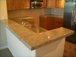 Countertop Tiles Kitchen Kitchen Color Ideas Oak Cabinets Black Appliances Front