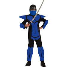 Halloween Costumes Ninjago Blue Ninja Boy Halloween Costume Walmart