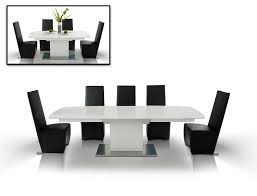 Modern White Dining Room Table Armani Aa818 265 Crocodile Modern Dining Table