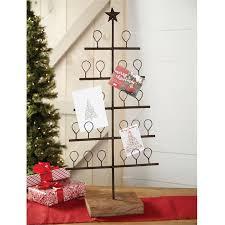 christmas holder metal tree christmas card holder mud pie