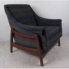 paoli chair co vintage mid century rocker with ottoman chairish