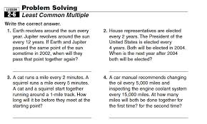 awesome collection of hcf lcm word problems worksheets with