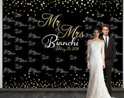 wedding backdrop banner wedding backdrop etsy