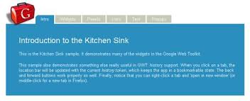 GWT Basics AJAX Programming With Java - Gwt kitchen sink