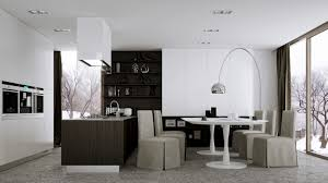arc floor l dining room kitchen contemporary kitchen dining room designs dining room