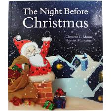the night before christmas by clement c moore christmas books