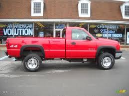 Classic Chevrolet 4x4 Trucks - 2007 victory red chevrolet silverado 2500hd classic work truck