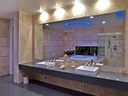 wall mirrors bathroom diy frameless large bathroom mirror with illumnated bathroom wall