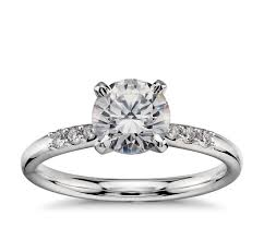 preset engagement rings 1 carat preset engagement ring in platinum blue nile