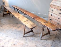 pair of antique benches u203a puckhaber decorative antiques